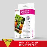 Premium Microporous 250GSM RC Matte Photo Paper for Digital Printing Waterproof Inkjet Paper