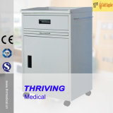 Metal Bedside Cabinet for Hospitals (THR-CB470)