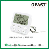 Digital Wireless BBQ Kitchen Thermometer with Time Display Ot5229b