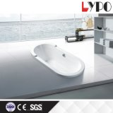 K-1302 New Affordable Simple Acrylic Square Bathtub, Hot Tubs Indoor Used Bathtub Price Size