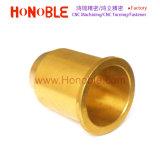 Copper/Brass CNC Turning Round Flange Sleeve