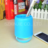 2017 Hot Selling Office Pen Holder Water Proof LED Bluetooth Speaker with FM Radio
