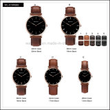 Simple Stainless Steel Classical Fashion Watches Leather D Style W Watch