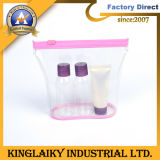 2016 Transparent Packing PVC Cosmetic Bag with Zipper (PB-05)