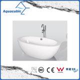 Bathroom Oval Free-Standing Acrylic Bathtub (AB1509W)