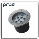9W LED Underground Lights with IP 67