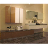 Oppein Modern Integrated Two Luxury Bathroom Cabinets Set (OP12-P20-400)