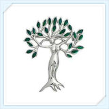 New Item Unique Tree Resin Stones Fashion Jewellery Brooch