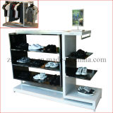 Wood Clothes/Shoes Display Stand with MDF Board (ZS-009)