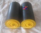 Ceama Standard Belt Conveyor Rubber Roller Idler for Cement