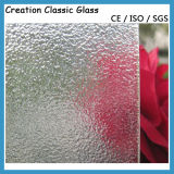 4mm Clear /Color Patterned Glass ISO9001: 2008 Quality Certificate