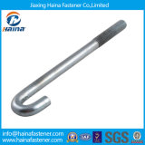 4.8grade Steel Galvanized J Bolt/Foundation Bolt