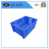 131# Reversible Piled Plastic Turnover Box for Fishing, Transportation, Food Processing, Fruits, Vegetable