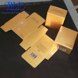 Wholesale Gold Card Printed Paper Box Packaging (BLF-PBO057)