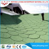 Manufacturer Supply Round Shape Plain Fiberglass Asphalt Roofing Shingle for Sale