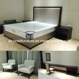 New Design King Size Luxury Chinese Wooden Restaurant Hotel Bedroom Furniture (GLB-6000801)
