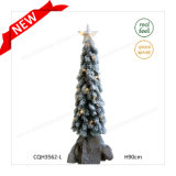 H90cm Pre-Lit OEM & ODM Customized Plastic Decoration Christmas Tree