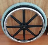 22X 1 3/8 Inflation Free Polyurethane Foam Rear Wheel for Wheelchair