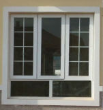 Grills Design Double Glazed UPVC Casement Window