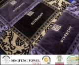 100% Cotton Supersoft Velour Embroidery Promotional Face Towel