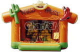 Western Theme Inflatable Bounce House/Inflatable Bouncer for Toddlers Bb018