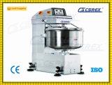50kg 130 Liters Floor Spiral Kneading Machine Biscuit Dough Mixer