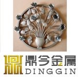 Wrought Iron Hot Forged Flower for Garden Decoration