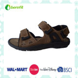 PU and Nubuck Upper with Trp Sole, Men′s Sporty Sandals
