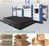 Die Cutting and Creasing Machine Corrugated Paperboard Box Machinery