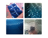 201 304 316 Emboss Blue Mirror Stainless Steel Sheet