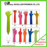 Promotion Advertisement Big Hand Finger Shape Plastic Ball Pen (EP-6-A-G)
