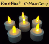 Set of 12 LED Rechargeable Flameless LED Decorative Candle