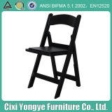 Blacking Stacking Resin Folding Chair for Weddings