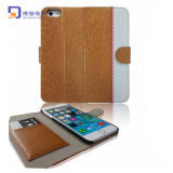 Fashion Stand Stand Wallet Mobile Case for iPhone 6