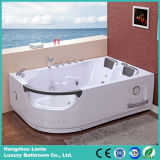 2 Person Jetted Whirlpool Bathtub with TV (TLP-665)