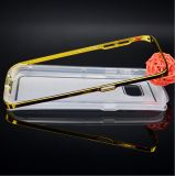 Metal Bumper + TPU Combo Mobile Phone Case for Samsung