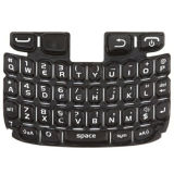Keypad Qwerty for Blackberry Curve 9220, Qwerty Keyboard Black Spare Part, Mobile Parts for Bb 9220
