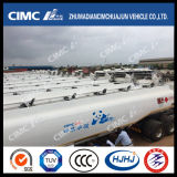 Cimc Huajun High Quality Carbon Steel Fuel/Oil/LPG/Gasoline Tanker Exported