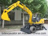 Baoding 8.5ton Wheel Excavators Technical Parameter for Sale