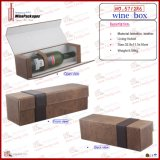 Square Hot Sell Single Wine Box (5712R6)
