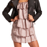 Ladies Fashion Dress with Jacket (FH002)