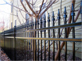 Security Backyard Metal Steel Picket Fence