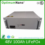 Rechargeable 48V 100ah LiFePO4 Battery Packs for Solar System