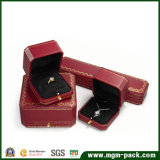 Luxury Octagonal Plastic Jewelry Box with Clasp
