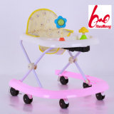 2017 New Model Wholesale Plastic Musical Baby Walker