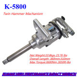 Air Tools 1 Inch Twin Hammer Mechanism Industrial Air Impact Wrench