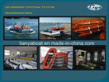2.0m-6.5m Liya Funny Inflatable Boat Motorized Inflatable Water Boat