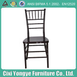 Black Plastic Resin Tiffany Chair for Banquet