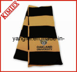 100% Acrylic Warmer Promotion Single Layer Knitted Scarf