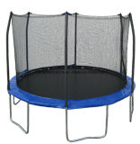 8FT Round Trampoline with 4 Legs and Safety Enclosure for Child Playing